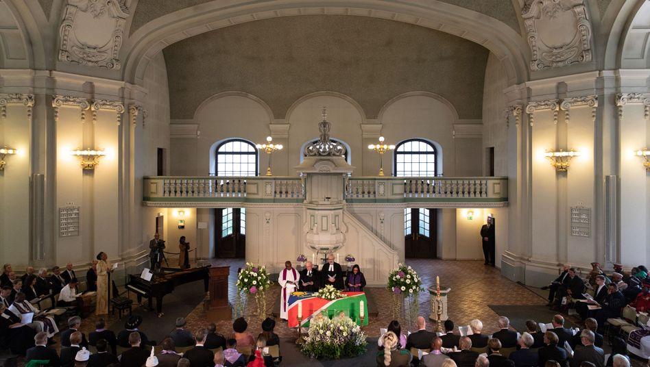 Gedenkgottesdienst für die ermordeten Herero und Nama in Berlin