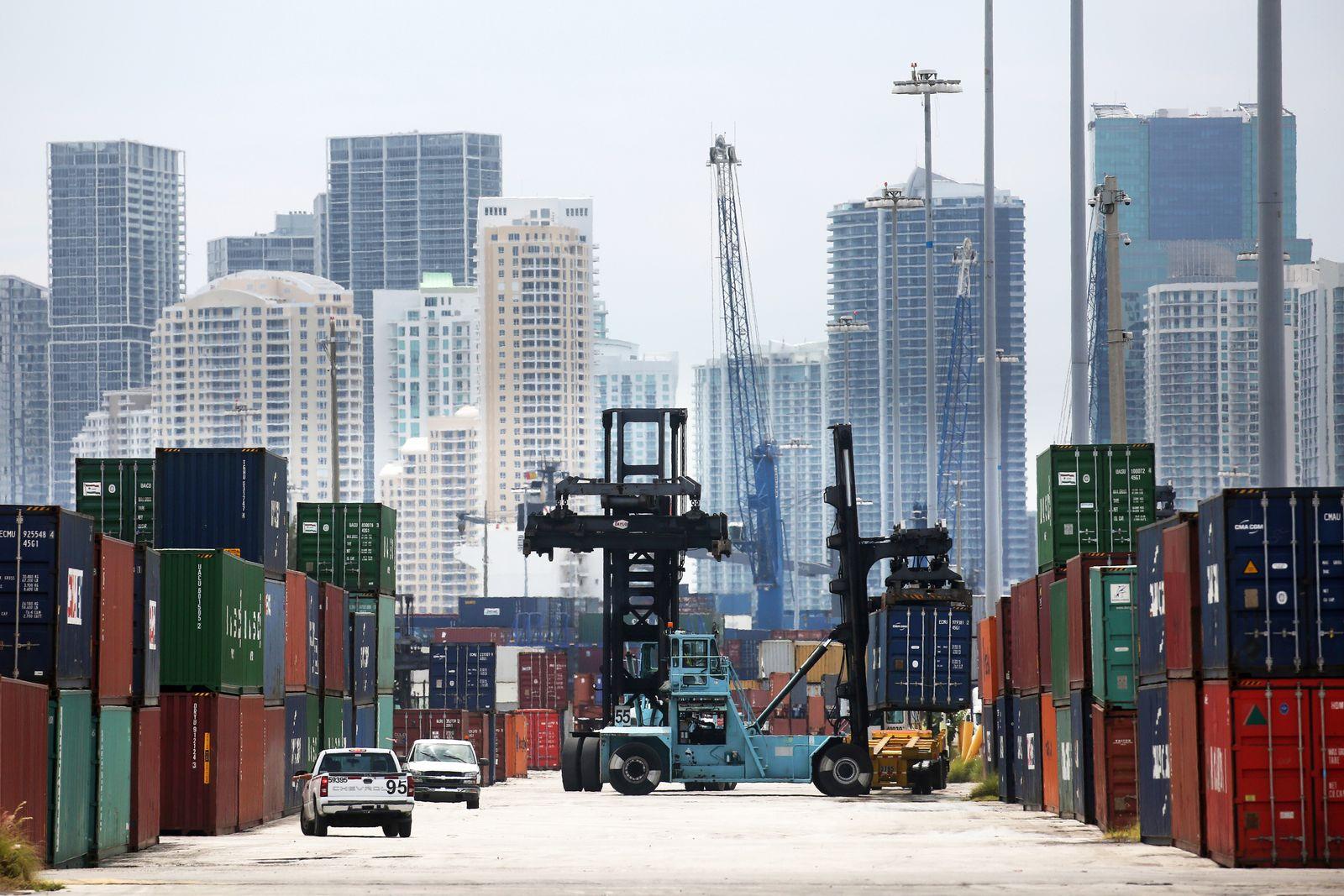USA / Konjunktur / Export / TTIP / Hafen von Miami