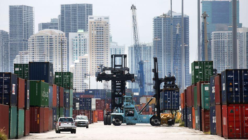 Hafen von Miami, Florida