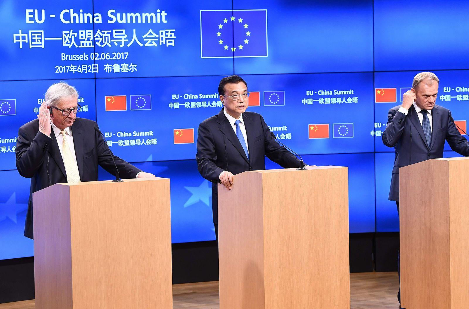 BELGIUM-EU-CHINA