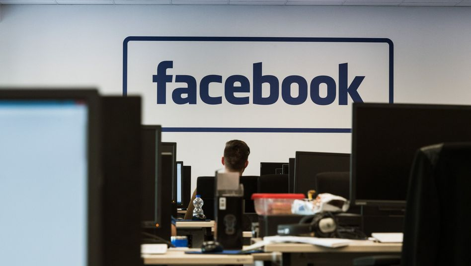 Facebook-Löschzentrum in Berlin