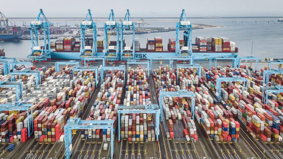 Rotterdams Hafen ist ein wichtiger Knotenpunkt im internationalen Drogenschmuggel