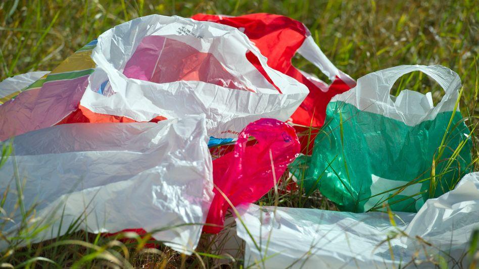Dünne Plastiktüten: In Kalifornien ab jetzt verboten