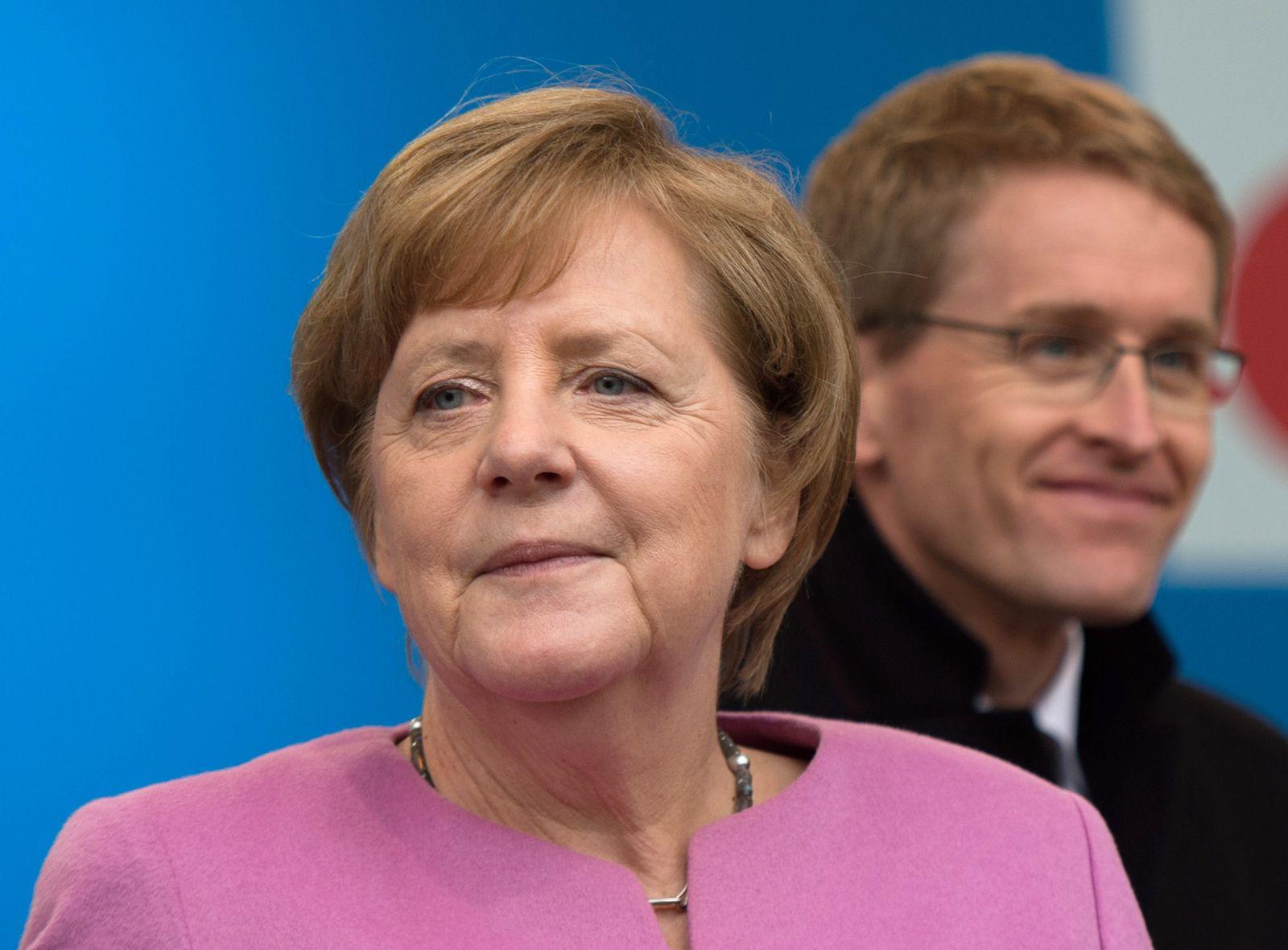 Daniel Günther/ Angela Merkel