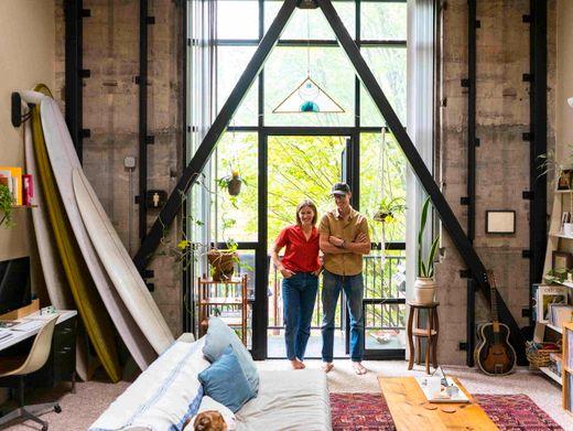 Lyndsey Lee und Marc Faulkner leben in Portland im US-Bundesstaat Oregon