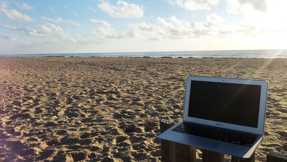 Strandnahes Büro: Ein Platz an der Sonne