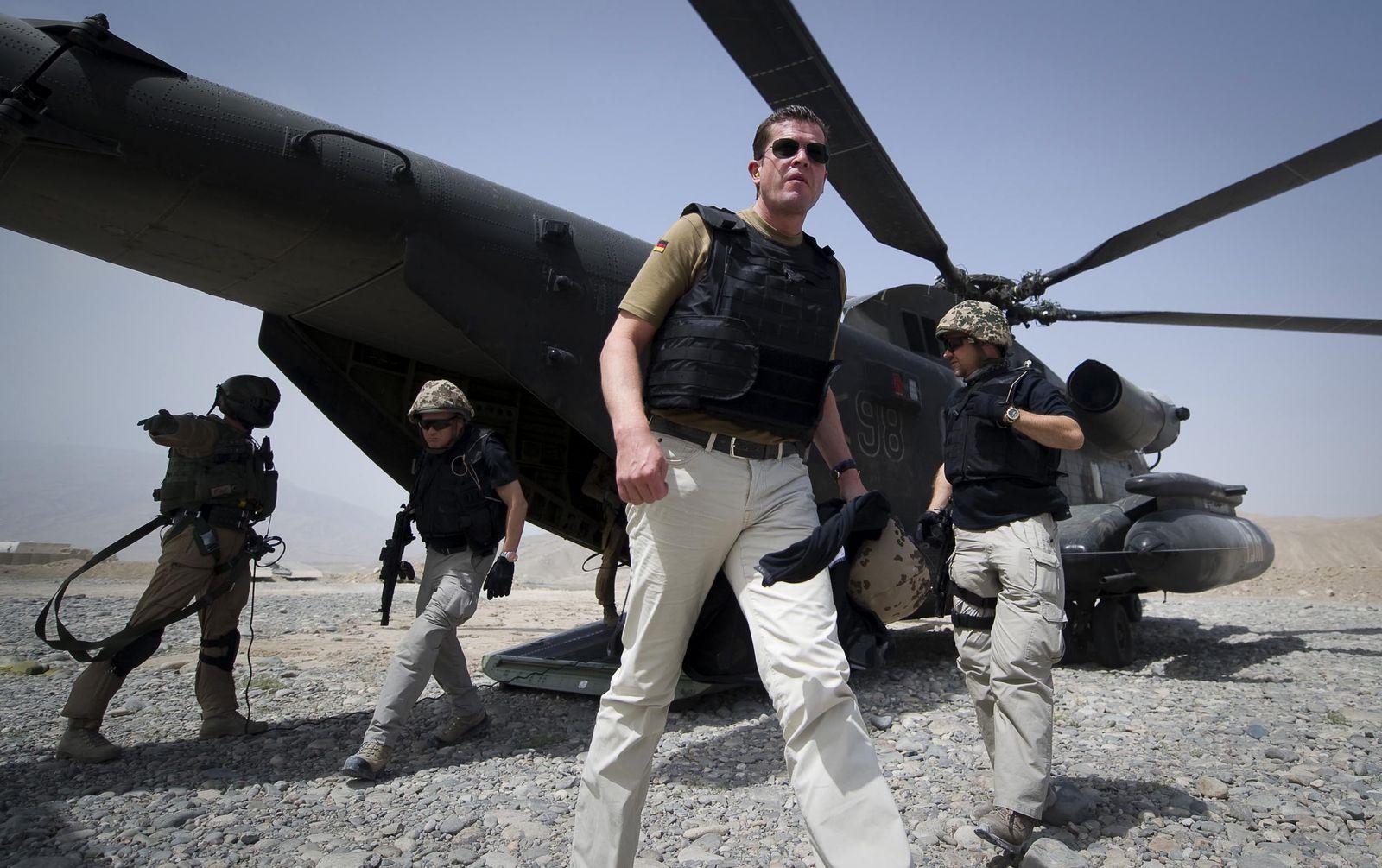 NICHT VERWENDEN Guttenberg / Afghanistan