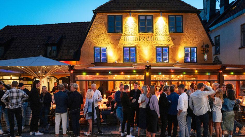 Restaurant im schwedischen Gotland