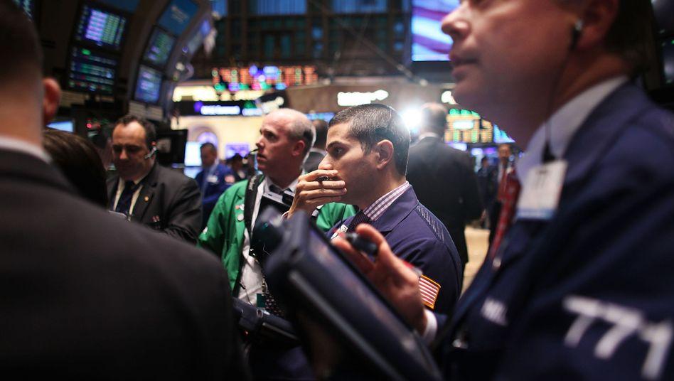 """Händler an der Wall Street: """"Animal spirits"""" wüten an den Finanzmärkten"""