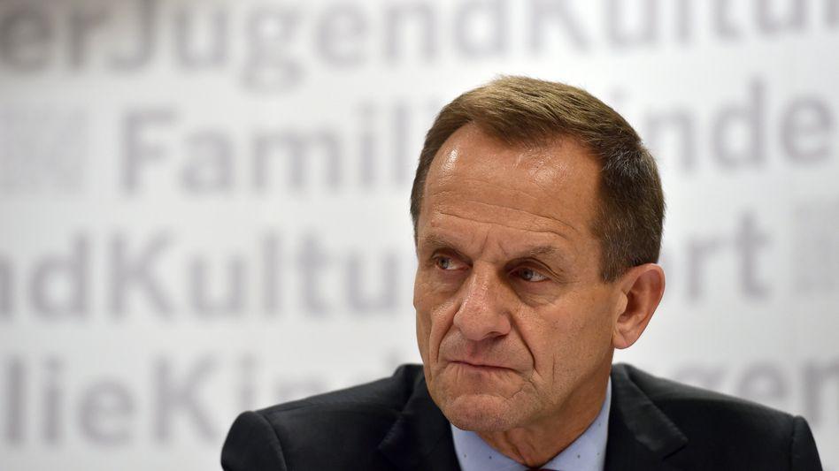 Alfons Hörmann muss bei seinen Forderungen Abstriche machen