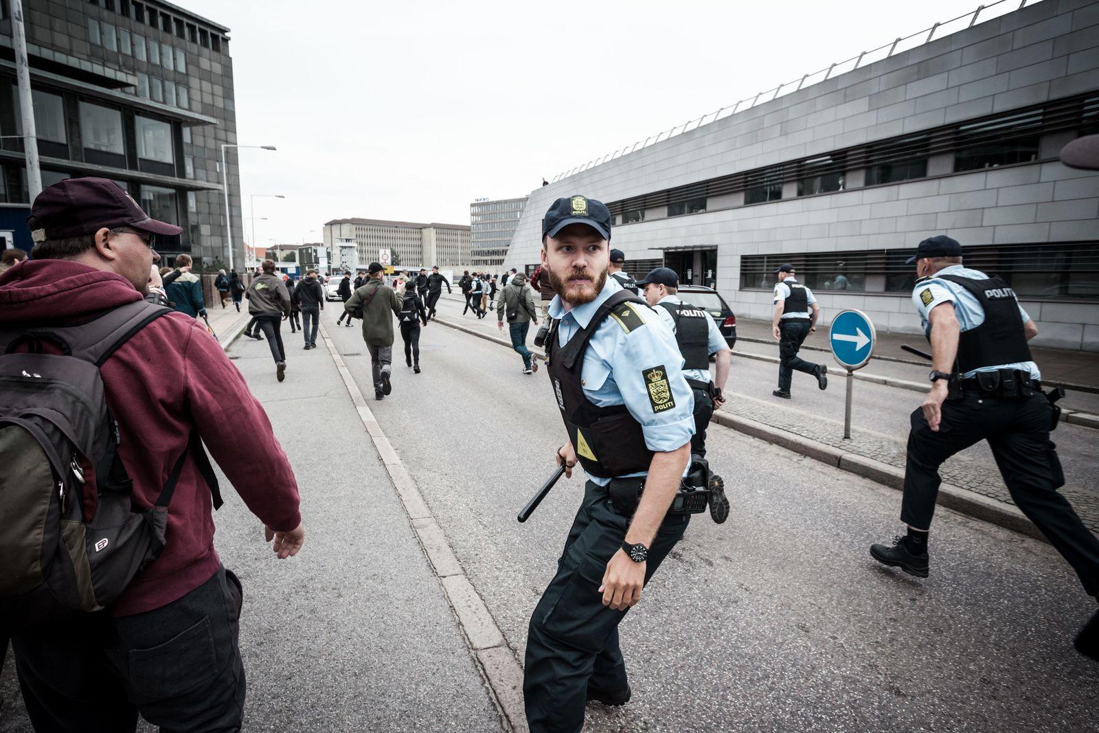 Violent clashes in Copenhagen