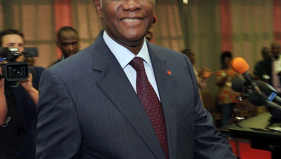Zum Präsidenten gewählt: Früher Oppositionsführer Alassane Ouattara