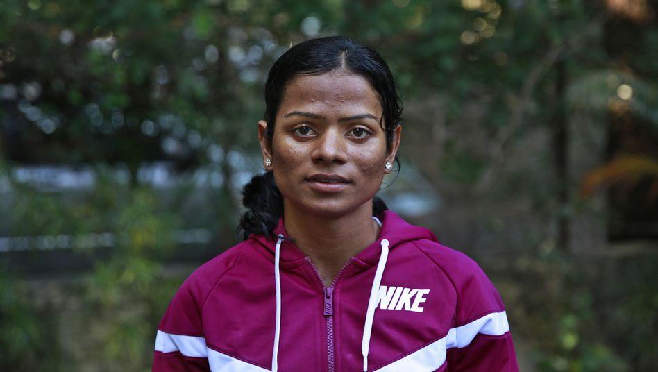 Dutee Chand im Oktober 2014: Zu männlich für den Sport?