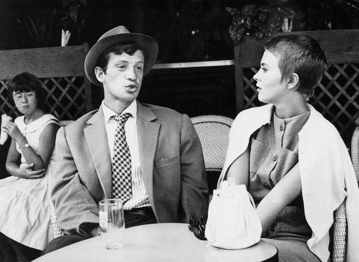 Belmondo und Jean Seberg in »Außer Atem«