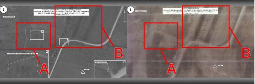 EINMALIGE VERWENDUNG Bellingcat/ Report/ Ukraine/ MH17