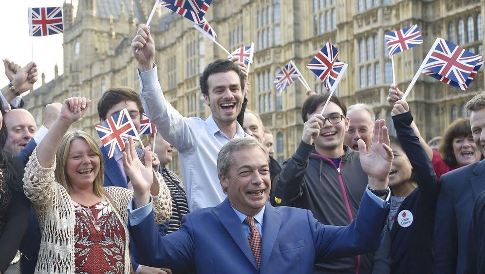 Brexit-Vater: Farages größter Tag