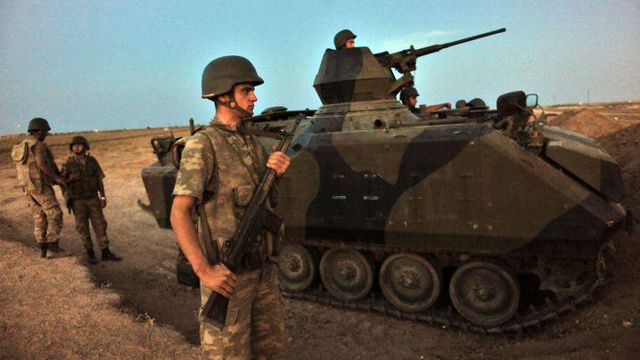 Syrien und Türkei: Spannungen an der Grenze