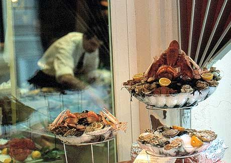 Meeresfrüchte satt: Das Restaurant La Lorraine ist spezialisiert auf maritime Leckereien