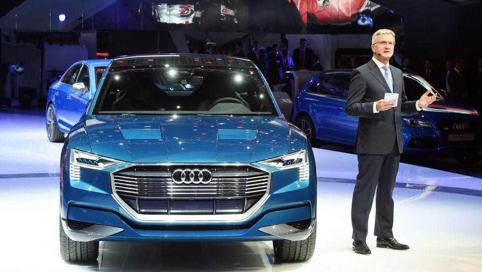 "Audi-CEO Stadler: ""Die Audi-Motoren sind sauber"""
