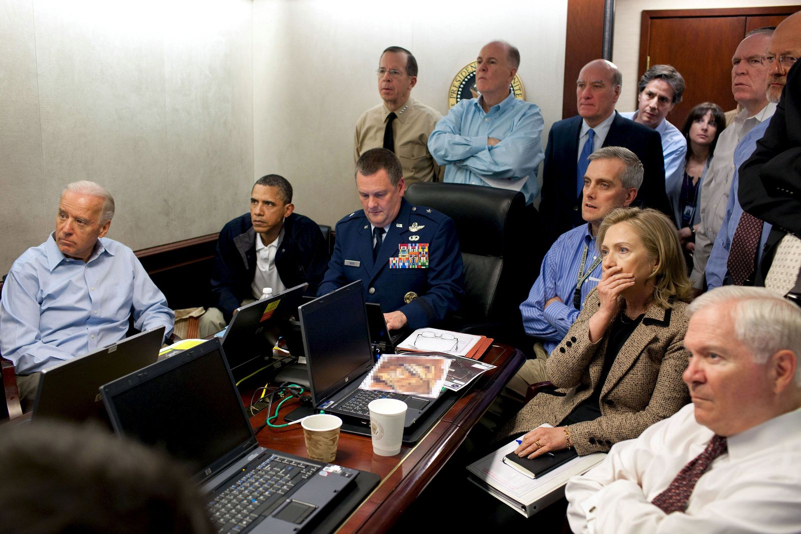 EINMALIGE VERWENDUNG Operation Neptune Spear/ USA/ Barack Obama/ Osama bin Laden/ Tod