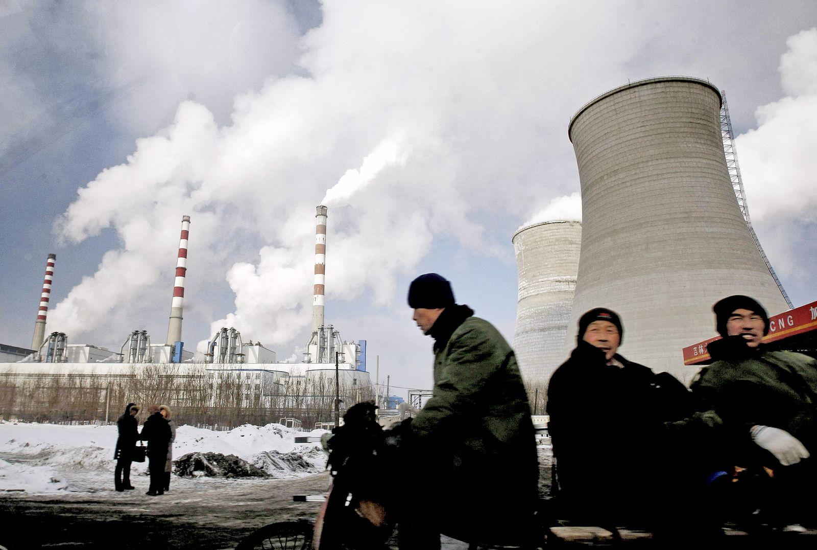 Kraftwerk / China / Co2 Emissionen / Umwelt
