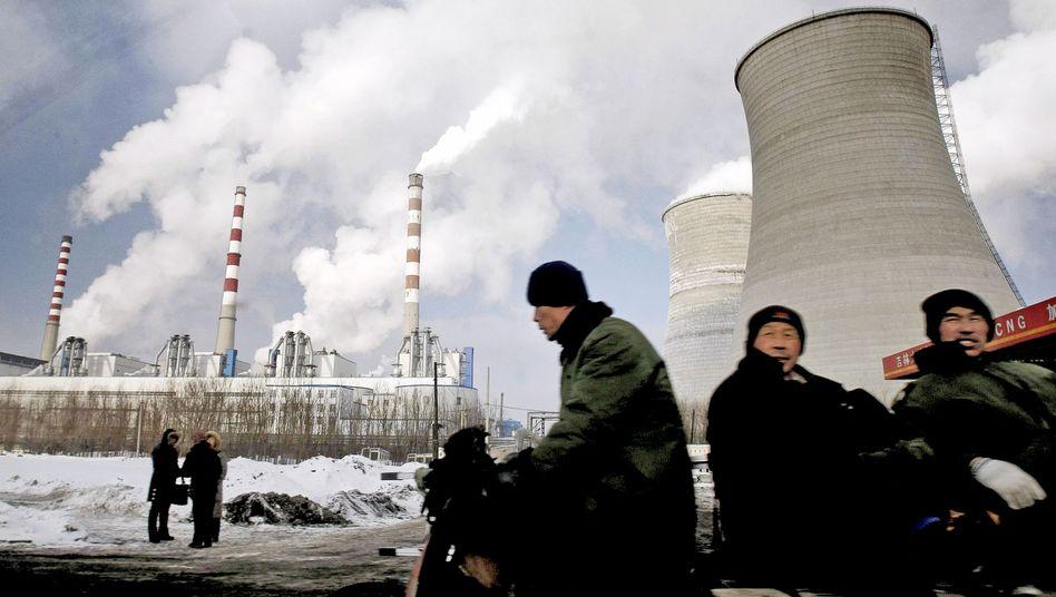 Kohlekraftwerk in Changchun: Differenz von 1,4 Milliarden Tonnen CO2