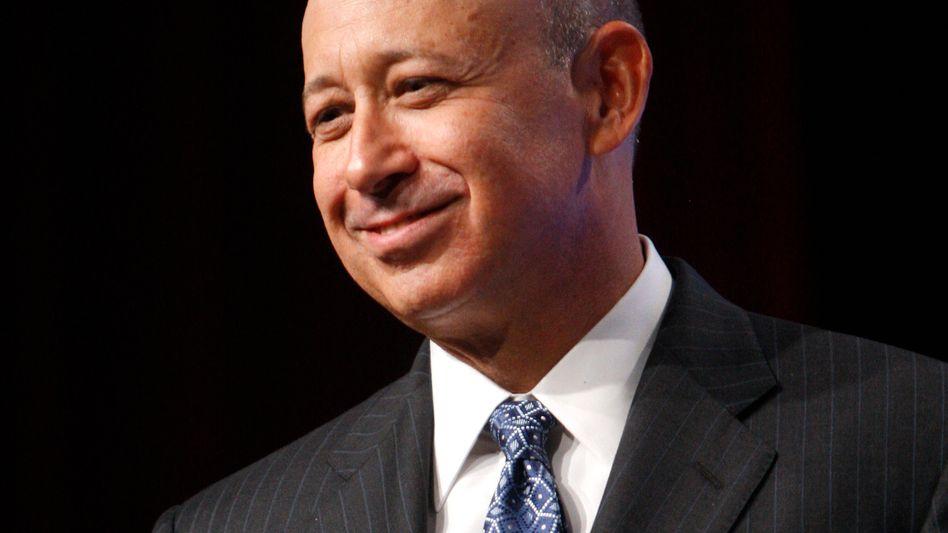"""Goldman-Sachs-Chef Blankfein: """"Wir helfen den Unternehmen zu wachsen"""""""