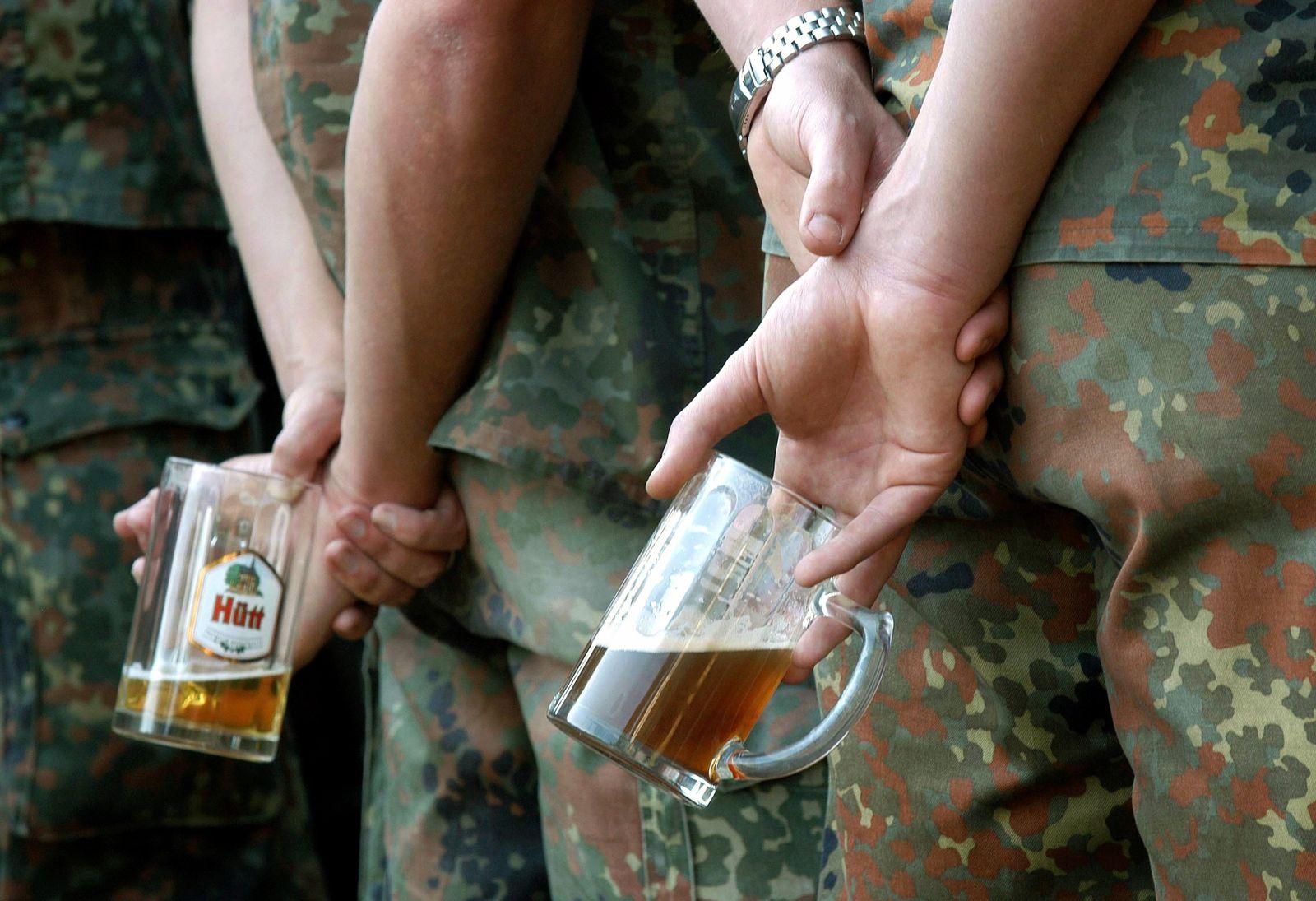 Alkohol im Afghanistan-Krieg