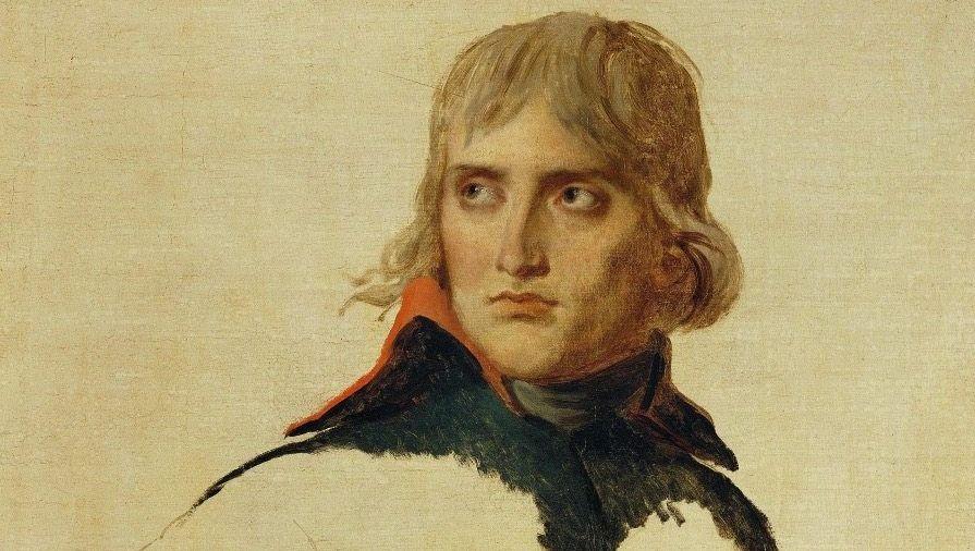 Der junge Napoleon Bonaparte – hier eine Ölstudie von Jacques-Louis David von 1799 – galt vielen Zeitgenossen als Visionär. Auch Henri Beyle, später bekannt als Stendhal, war anfangs mehr als beeindruckt.