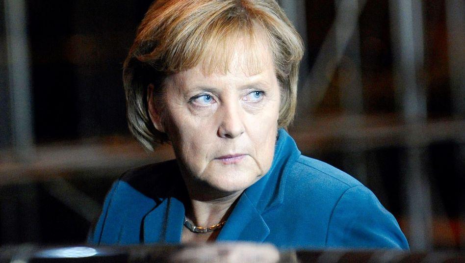 """Kanzlerin Angela Merkel: """"Ich stehe dafür, dass wir nichts beschönigen werden"""""""