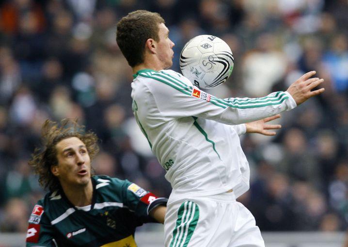 Ex-Wolfsburg-Star Dzeko: Von Mrosko entdeckt