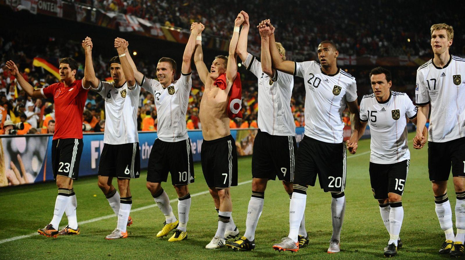 WM 2010 Nationalmannschaft Deutschland