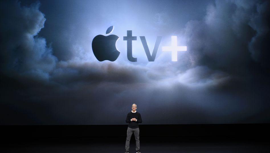 Enthüllung von Apple TV+