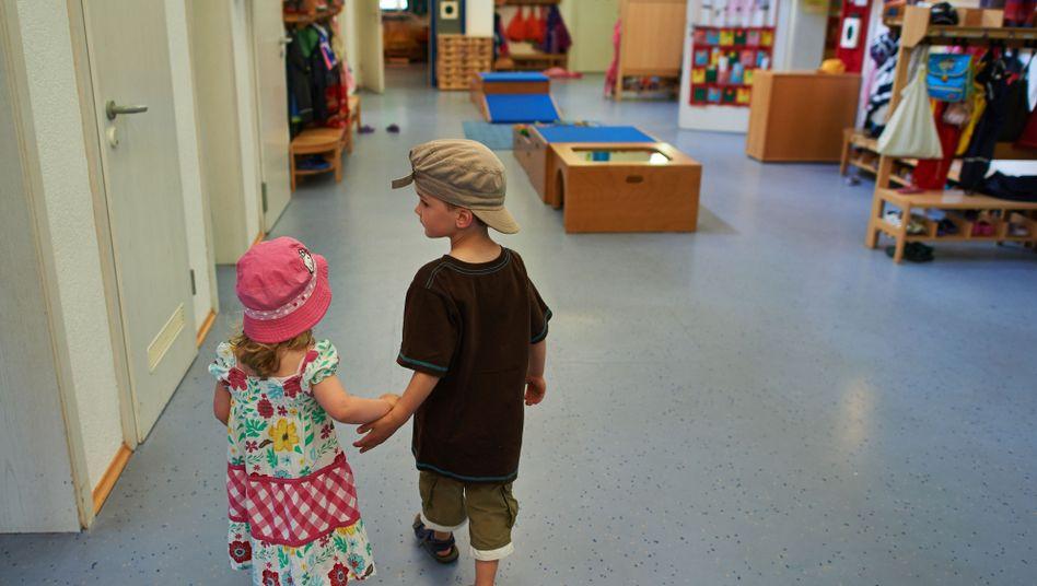 Kinder in der Kita: Viele Wartelisten sind voll