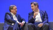 Nächtliches Treffen von Söder und Laschet endet offiziell ohne Ergebnis