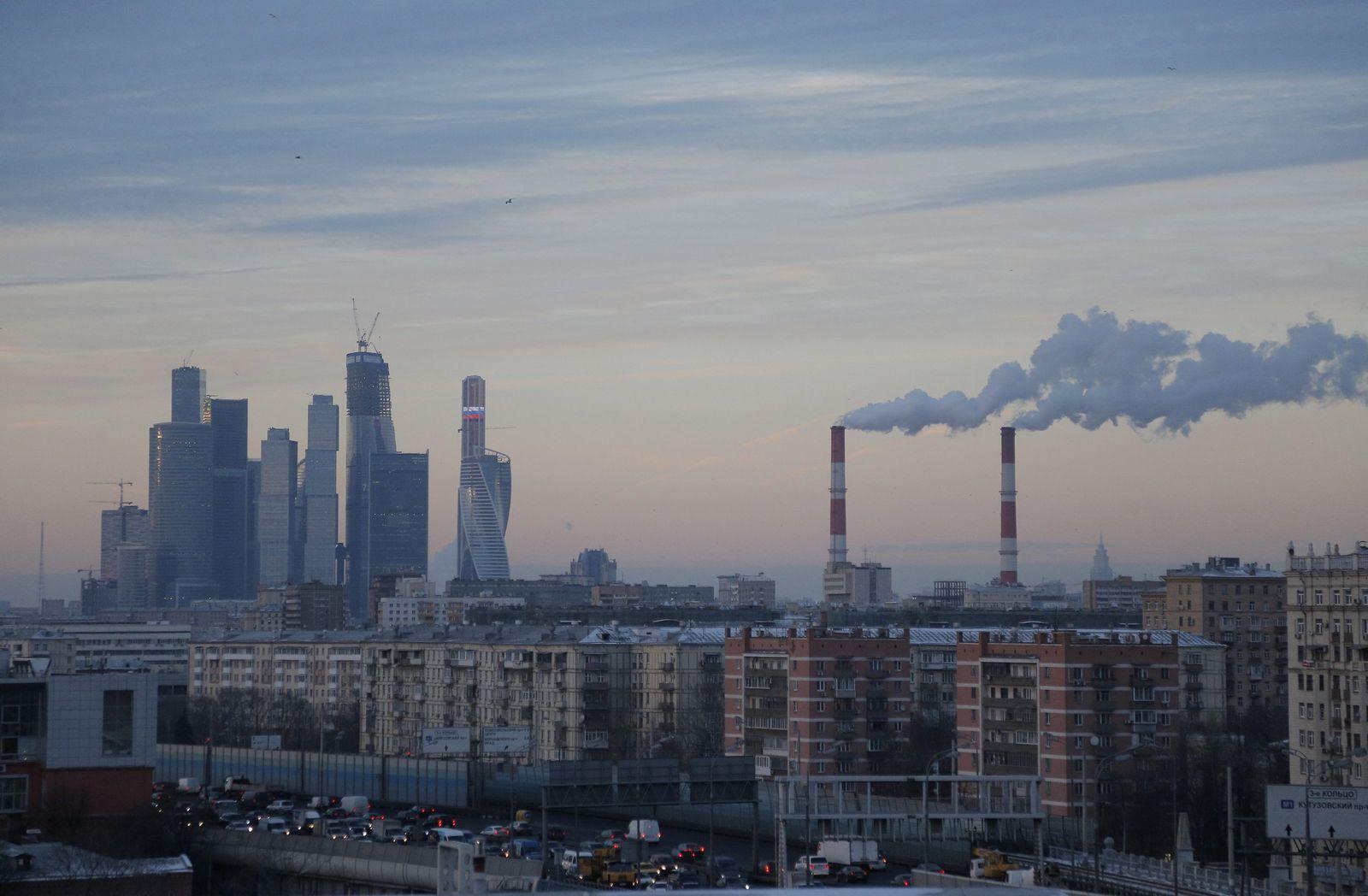 Moskau/ Wirtschaft/ Skyline