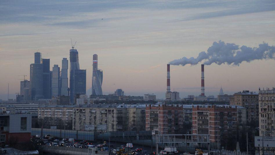 Industrie in Moskau: Die russische Wirtschaft leidet