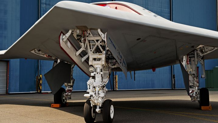 X-47B: Killer mit Tarnkappe
