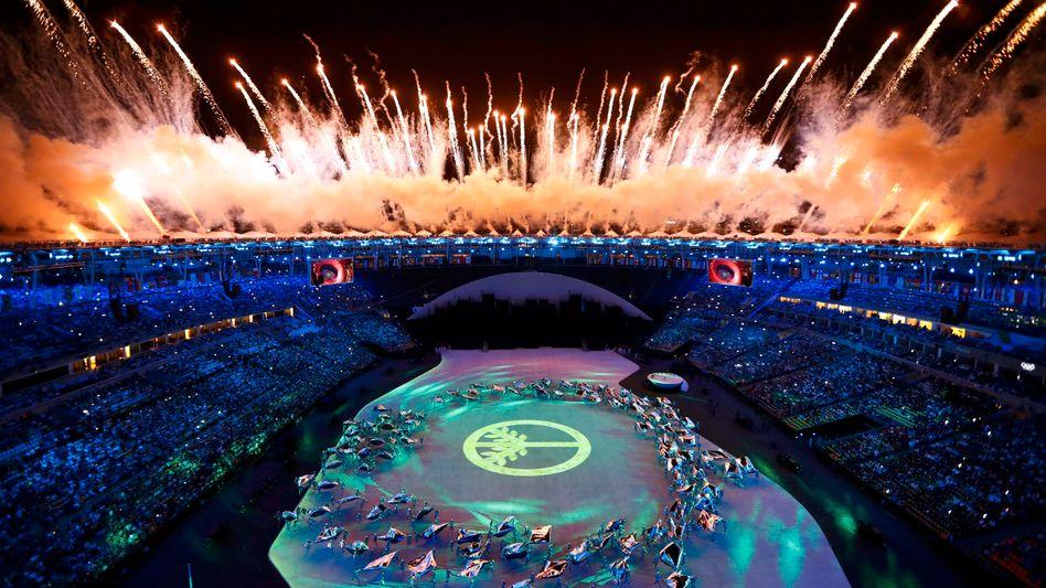 Olympische Eröffnungszeremonie 2016