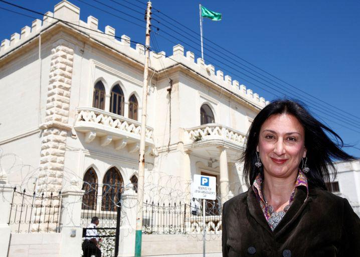 Ermordete Journalistin Daphne Caruana Galizia