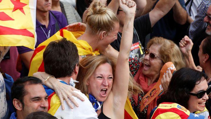 Kataloniens Unabhängigkeit: Das halbe Land ist ganz begeistert