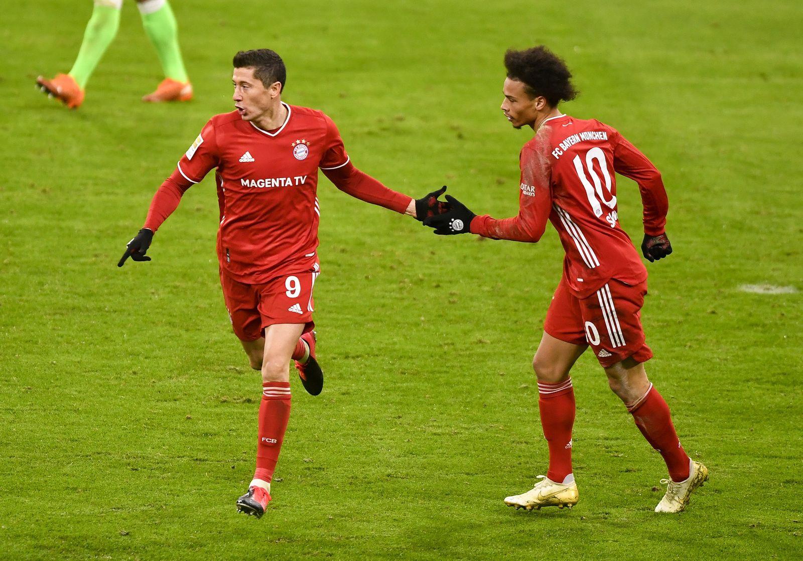 Bayern Munich vs VfL Wolfsburg, Germany - 16 Dec 2020