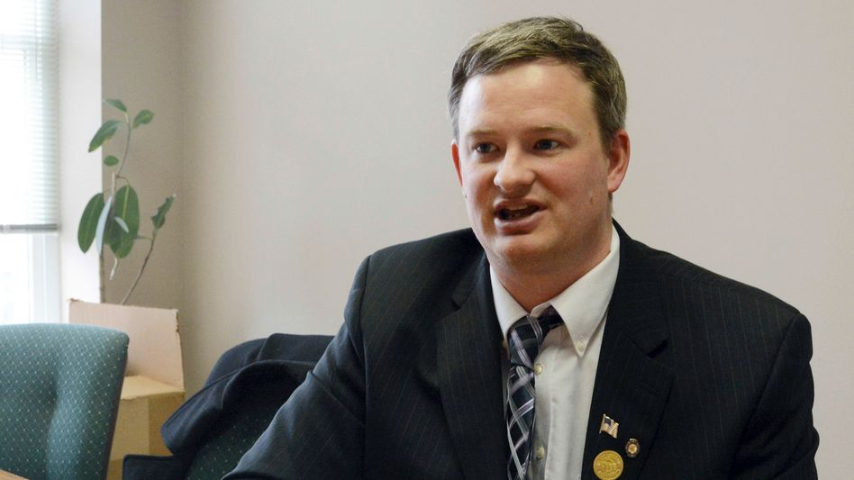 South Dakotas Justizminister Jason Ravnsborg im Jahr 2014