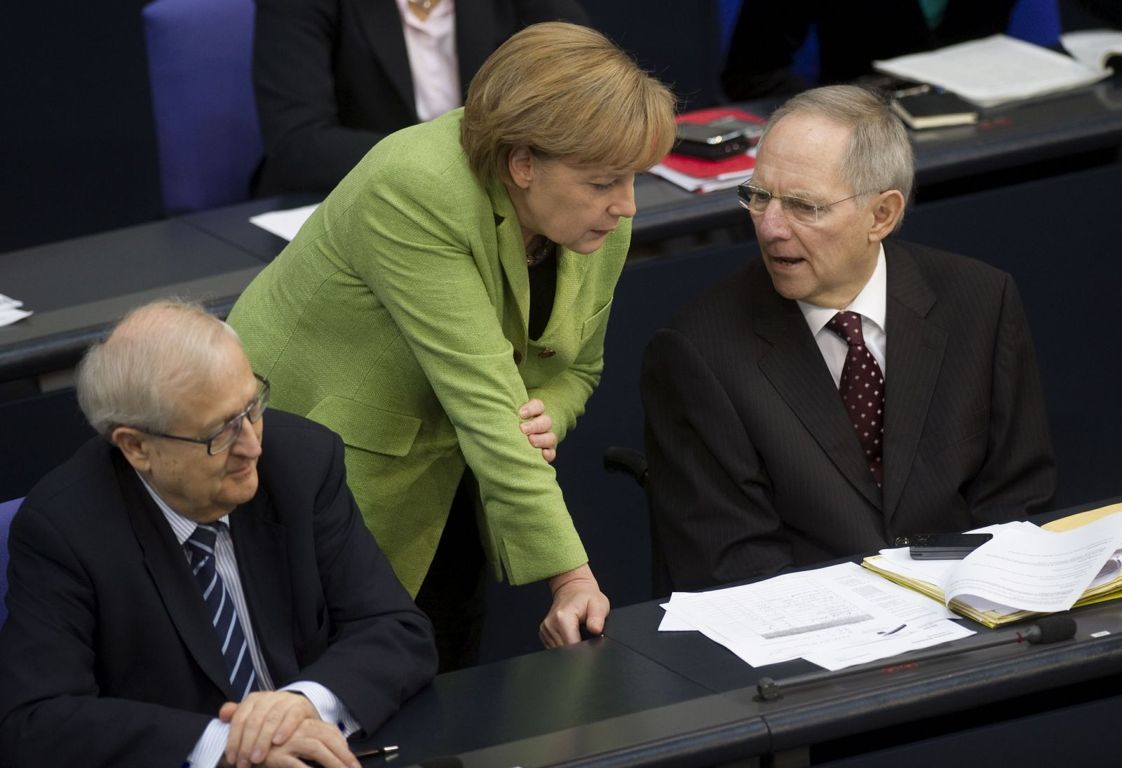 NICHT VERWENDEN Merkel / Schäuble