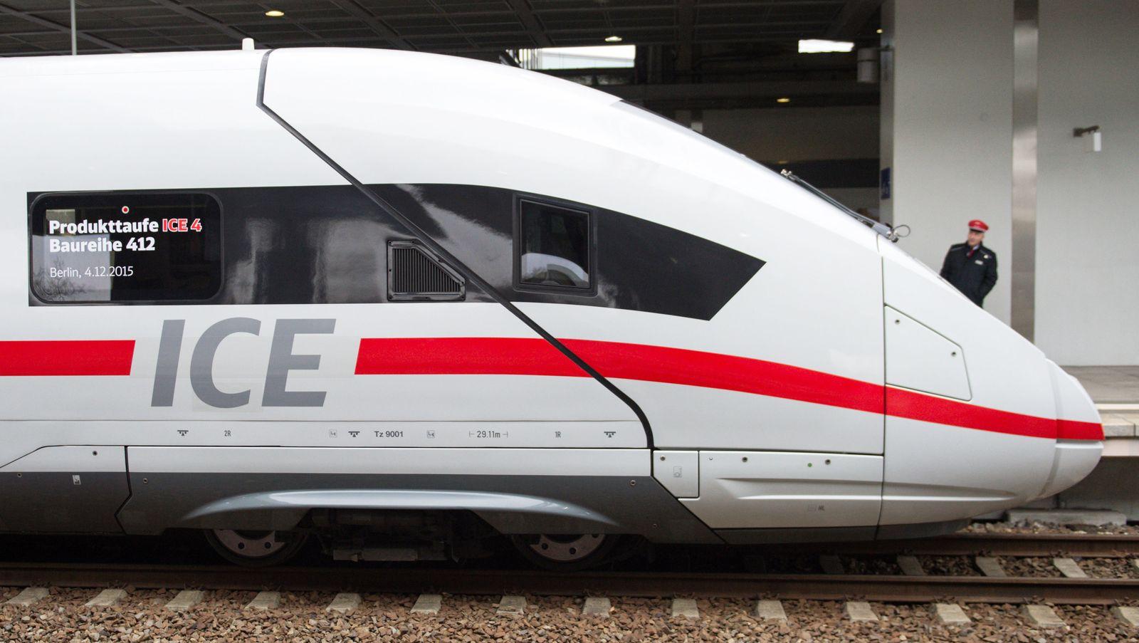 Bahn / ICE 4 / Taufe