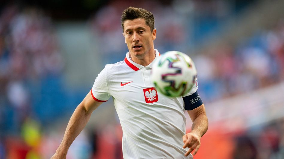 Immer den Ball im Blick: Robert Lewandowski