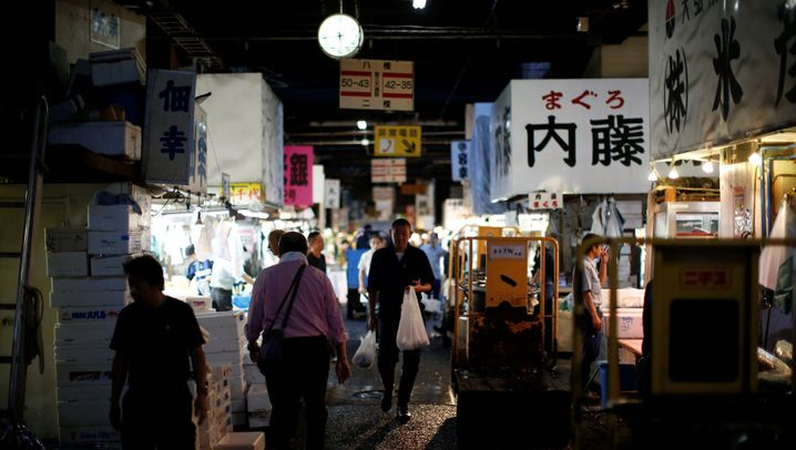 Tokios Wahrzeichen: Der Fischmarkt zieht um