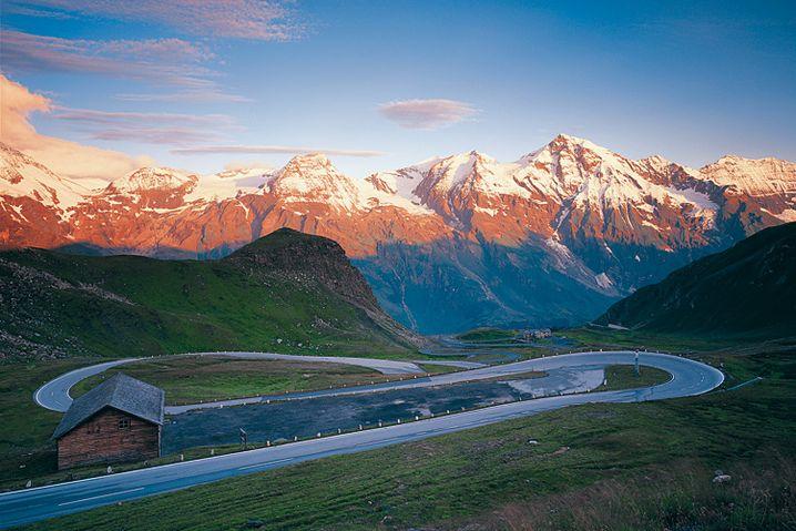 Großglockner: Die Hochalpenstraße gehört zu den Klassikern der alpinen Auto-Routen
