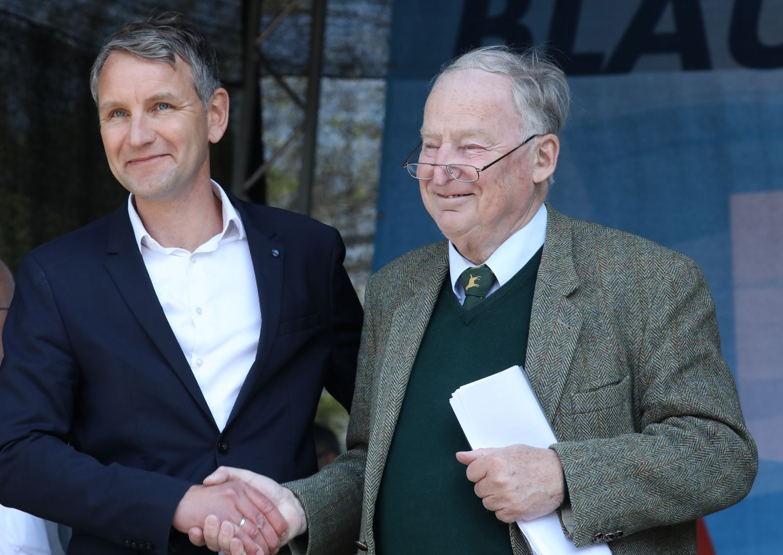 Björn Höcke/ Alexander Gauland