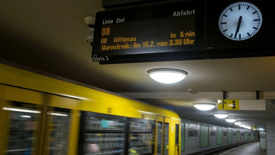 U-Bahn in Berlin: Zusätzliches Geld für Investitionen benötigt